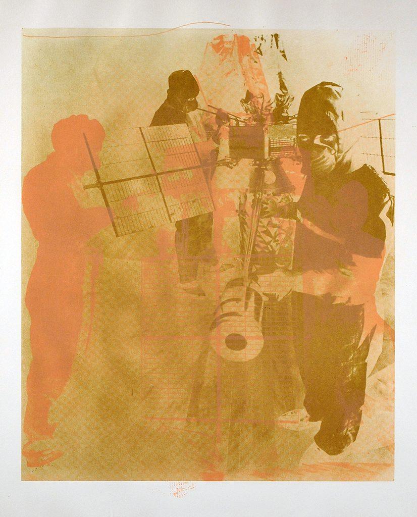 "Robert Rauschenberg, ""Shell, SMGA Permanent Collection"