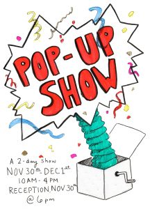 NOV 30-DEC 1 2-Day Pop-Up Show, Sella-Granata Art Gallery