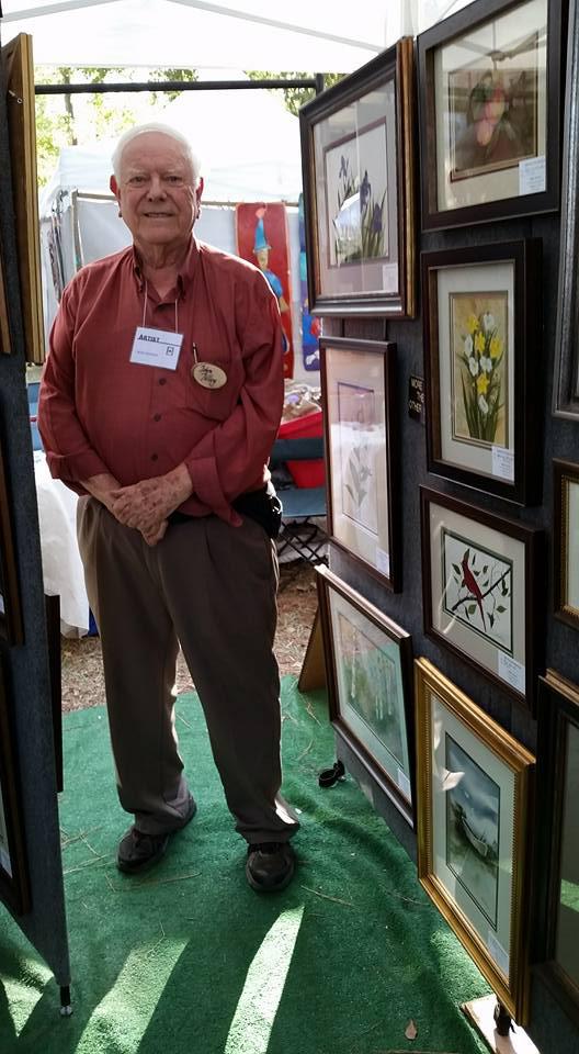 John TIlley at the Kentuck Festival, October 2016