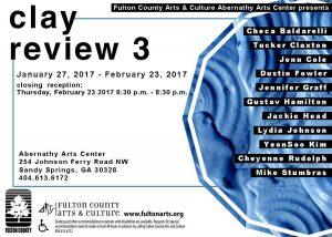 Checa Baldarelli, group exhibition Clay Review 3.