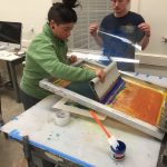 Checa Baldarelli screen printing