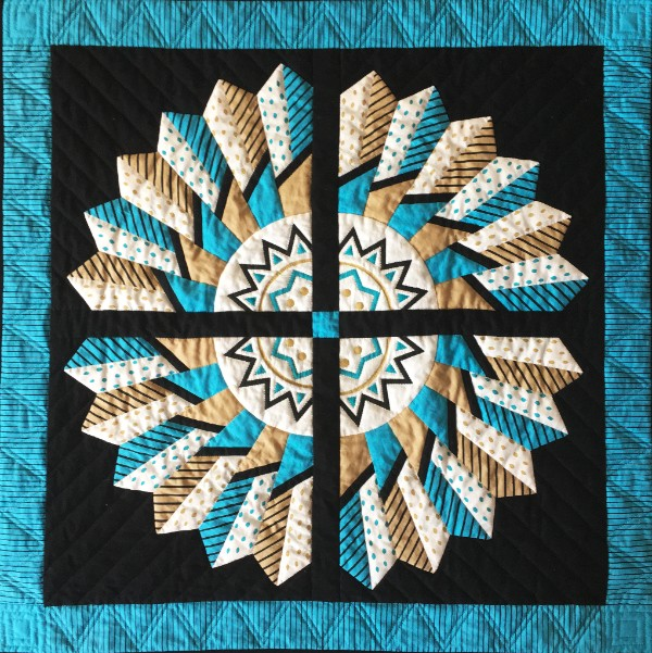 46th Kentuck Festival quilt design by Hallie O'Kelley!