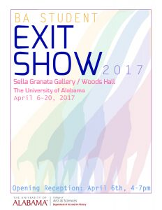 EXIT 2017 Senior Exhibition