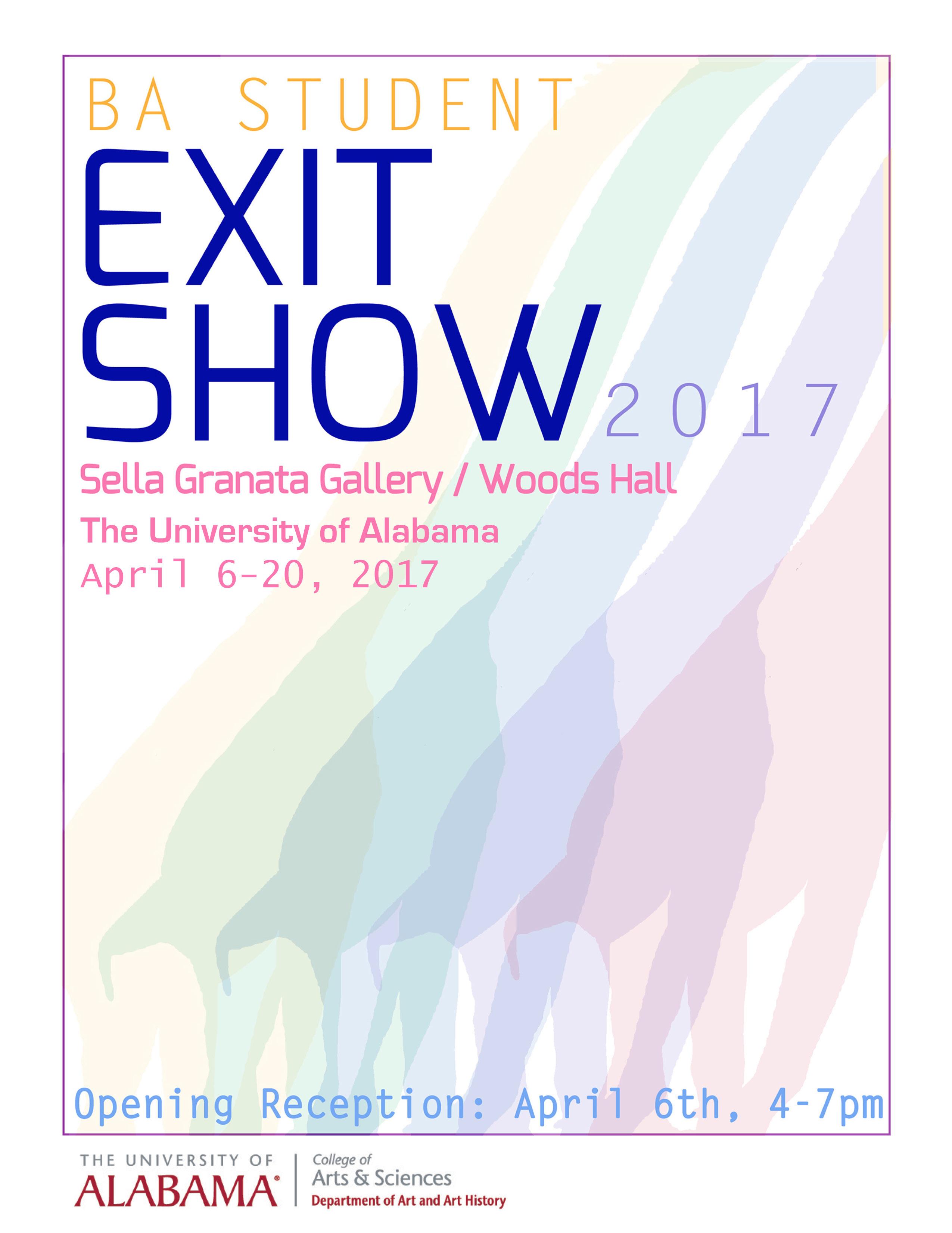 EXIT 2017 Senior Exhibition