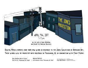 """Jones Projection"" First Friday, April 2017"