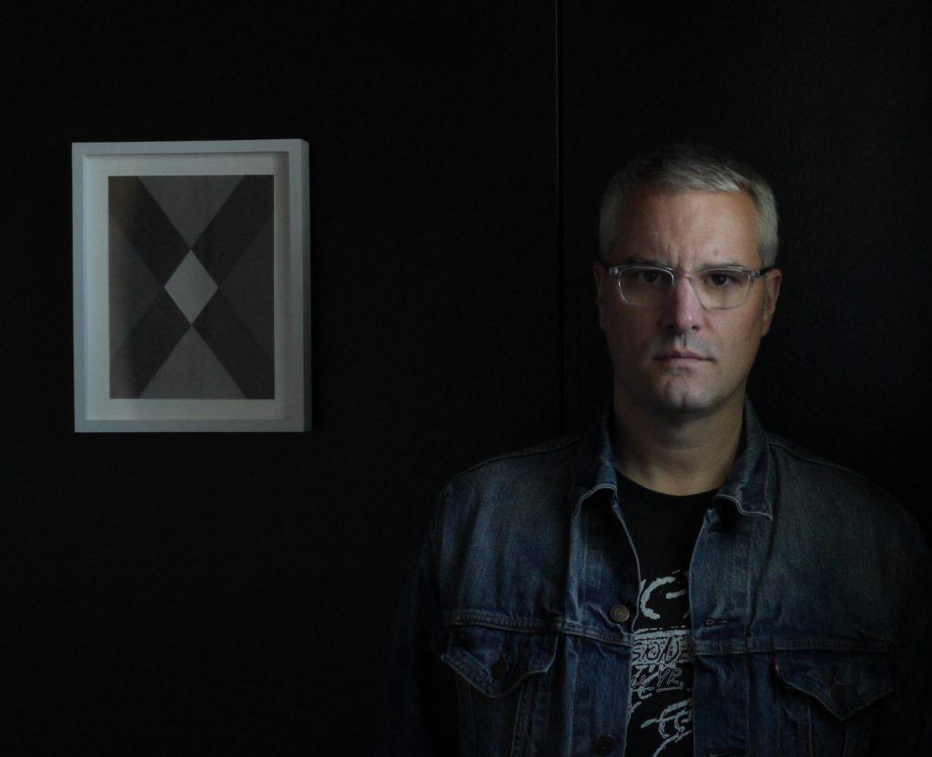 Pete Schulte, now associate professor of drawing, in 2017