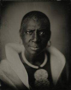 "Photo by Kathryn Mayo titled, ""Afriye Wekandodis, 61"""