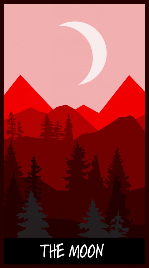 """Zach Grove, """"The Moon,"""" 2017."""