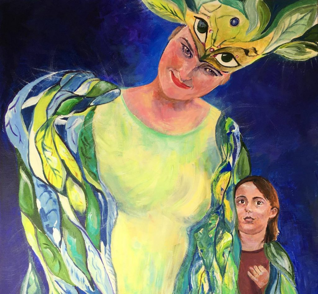 Janet Mego's painting