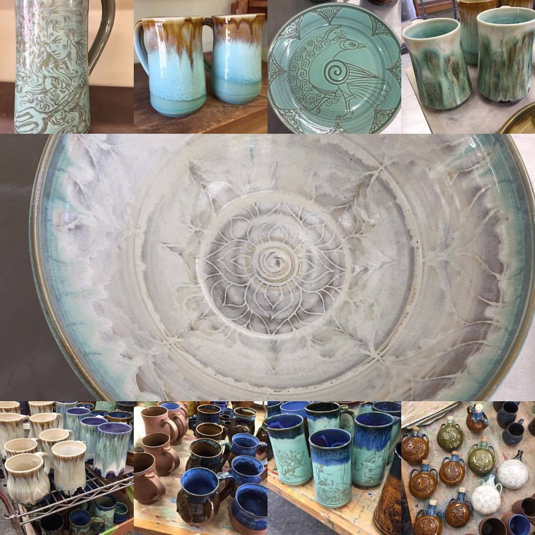 ceramics by Kerry Tyson Kennedy