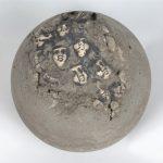 """Mario Petrirena, """"Untitled,"""" 1997, ceramic and concrete"""