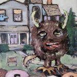 """""""Doughnut Monster"""" by Lorrie Lane for the Monster Makeover."""