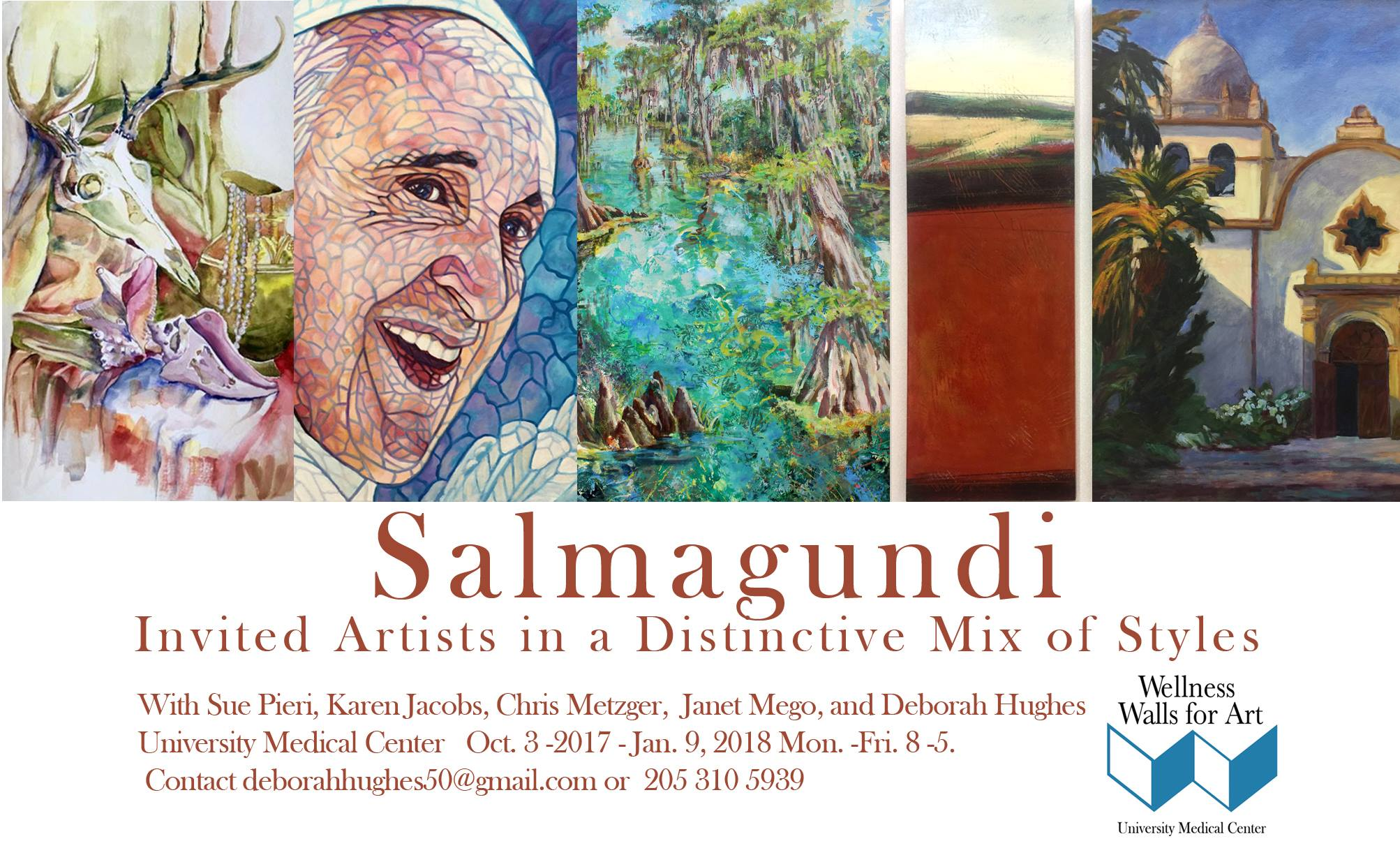 Salmagundi at Wellness Wall for Art, University Medical Center