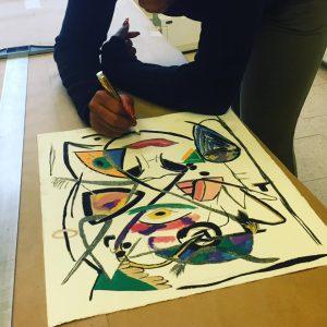 Eclectic Way-Paul R Jones Collection and printmaking students' exhibit 2017