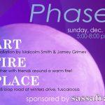 Jamey Grimes and Malcolm Smith at Sassafras Park, Dec. 17, 5-8 pm