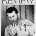 Frank Fleming on the cover of the Society of Fine Arts Review, Fall 1985