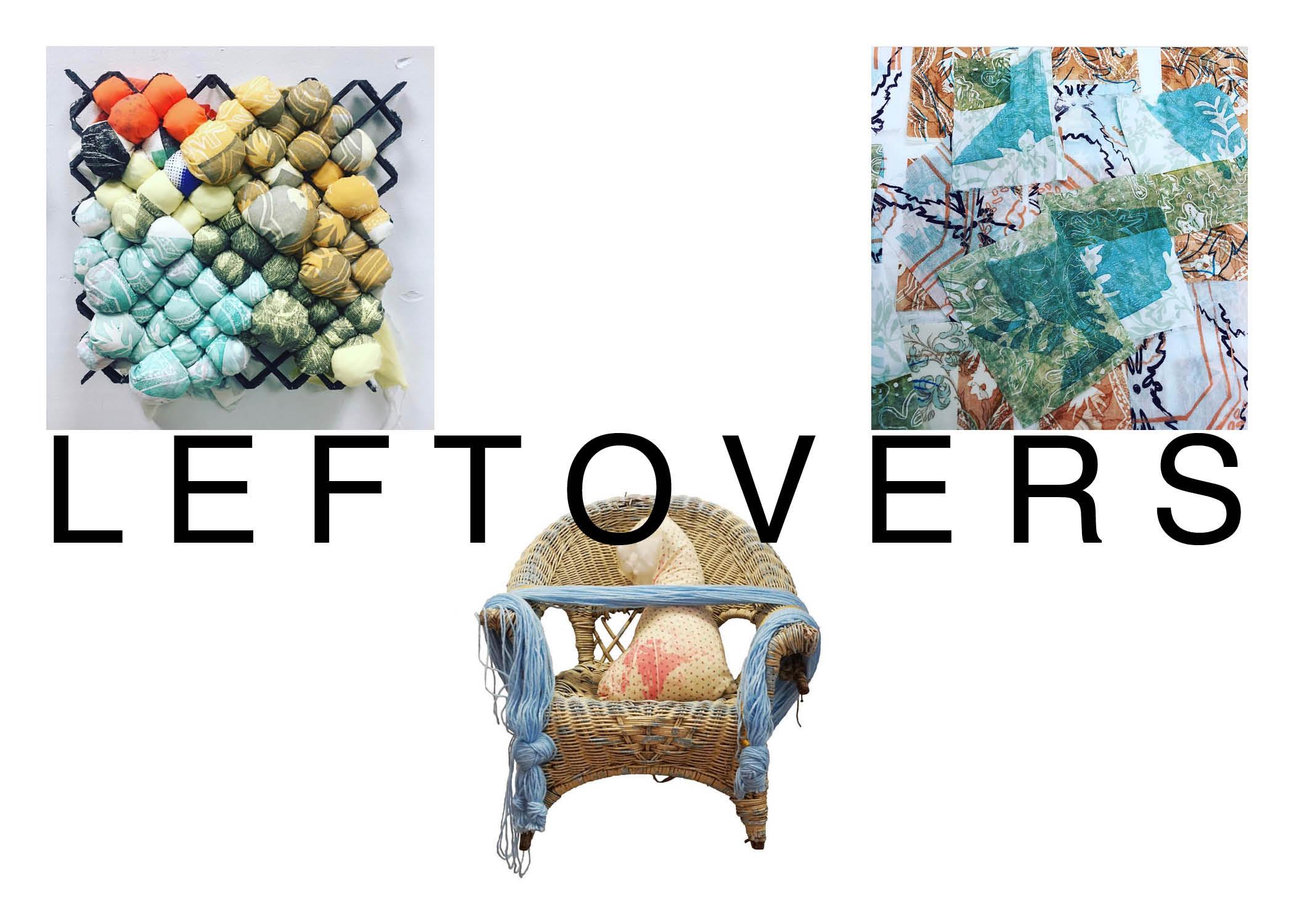 Checa Baldarelli MFA Thesis Exhibition: Leftovers, at the Sella-Granata Art Gallery, March 19-30, 2018.