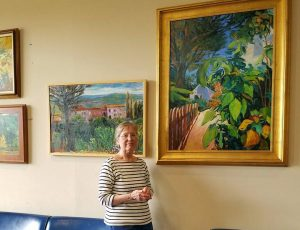 Christine Metzger Paintings at Tuscaloosa Juvenile Detention Center Lobby