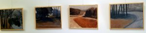 Sharon Long's exhibition, New Landscapes, at the Betak-Frangoulis Gallery, Canterbury Chapel