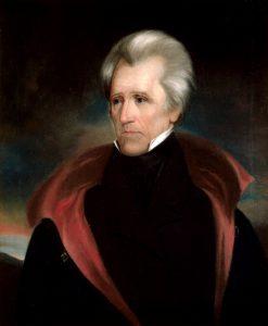 Ralph Eleaser Whiteside Earl, Portrait of Andrew Jackson