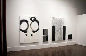 """Installation view: Daisie Hoitsma, """"RHYTHM: a meditation on time,"""" Ground Floor Contemporary, Birmingham, 2018"""