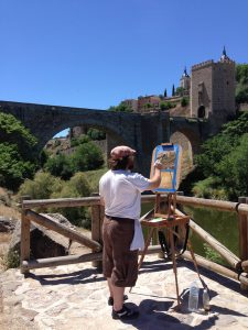 Study Abroad with UA Art in Spain