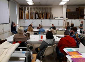 Printmaking Presentation with Sarah Marshall at AAEA 2018