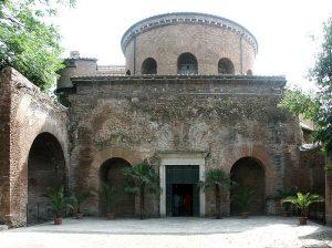 Santa Costanza in Rome, one of the landmarks studied in Dr. Jennifer Feltman's ARH 360. (Photo from Bluffton website)