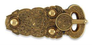 Sutton Hoo buckle British Museum, studied in Dr. Jennifer Feltman's ARH 360.