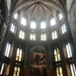 Titian's Assumption of the Virgin in Santa Maria Gloriosa dei Frari still in situ. The day we visited the church was the 500th anniversary of the installation of the painting! Venice, Study Abroad, 2018. Photo courtesy Rebecca Teague.