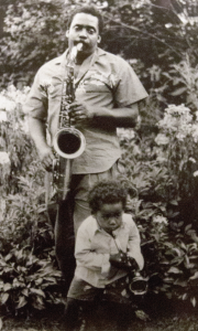 Ming Smith, Step One: David and Mingus, 1989, gelatin silver print, courtesy the Paul R. Jones Collection of American Art at The University of Alabama, PJ2008.0264.