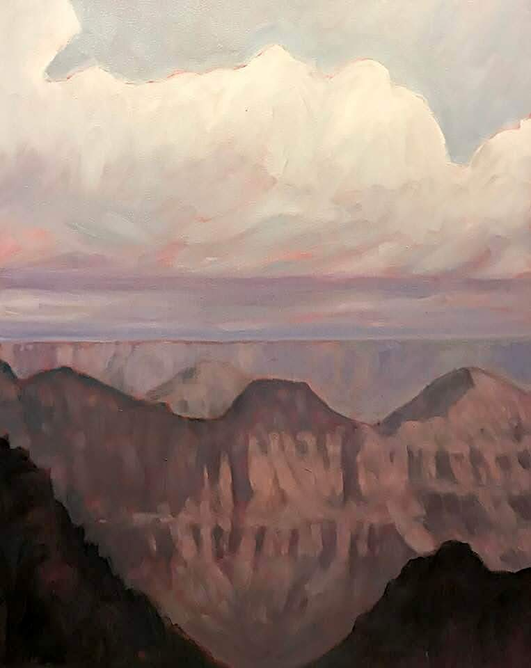 "Richard Richards, ""From the North Rim"""