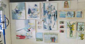 Lorrie Lane Studio and Gallery: Liz Bryan, Steve Davis, Marysia Galbraith and Lorrie Lane