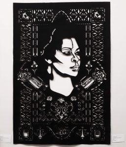 "Tyra Robinson, ""Unforgotten (Sandra Bland)"" Art Council Gallery, DWCAC"