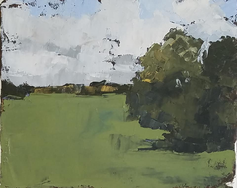 Lorrie Lane Painting for St Patricks Day 2019