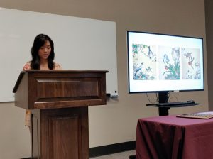 Art major Sarah Fields presents her award winning essay on Italian Jesuit painter Giuseppe Castiglione in 18th century China.