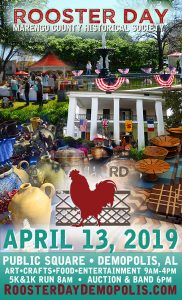 Rooster Day, Demopolis, Apr 13, 2019