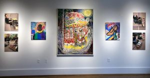 """It Don't Come Easy: the Blues in Art from the PRJ Collection,"" Paul R. Jones Museum"
