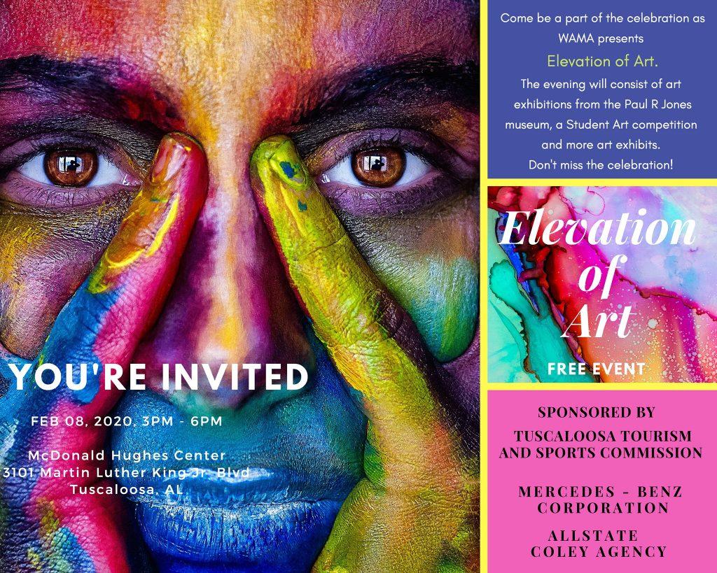 Poster for an art festival