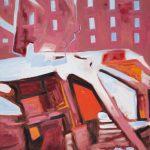 "Tom Wegrzynowski, ""Delta Force,"" 2015, oil on canvas, 24 x 18 inches."
