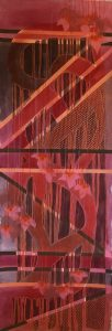 abstract painting by Alyssa Hochstetler