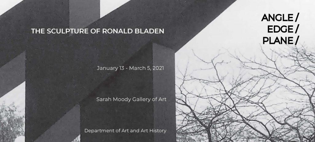 exhibition showcard for Minimalist sculpture exhibition