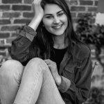 Art history grad student Lizzie Orlofsky