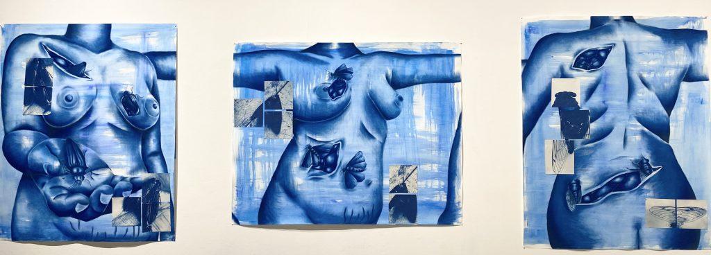 Triptych by Sandra Vega
