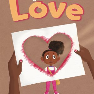 "Picture book cover ""Magenta Delivers Love"""